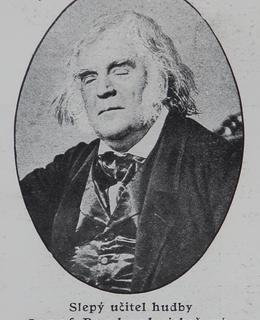 Smetanův učitel hudby Proksch (Archiv MILPO)