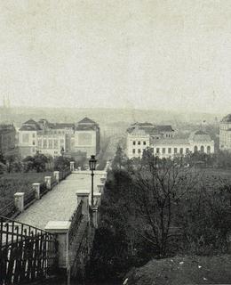 Albertovské schody, 1912