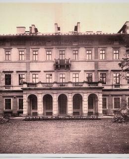 Gröbeho vila od severu, kol. 1920