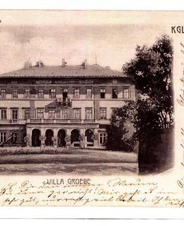 Gröbeho vila, pohlednice, 1905, MMP