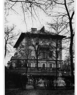 Gröbeho vila od východu, kol. 1940, AMP
