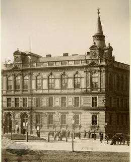Radnice čp. 600, kolem 1890. MMP.