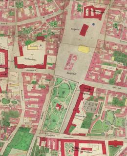 Mapa 1842, Karlovo náměstí