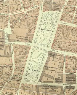 Mapa 1884, Karlovo náměstí