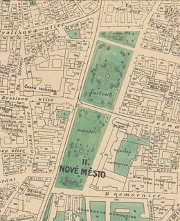 Mapa 1909-1914, Karlovo náměstí