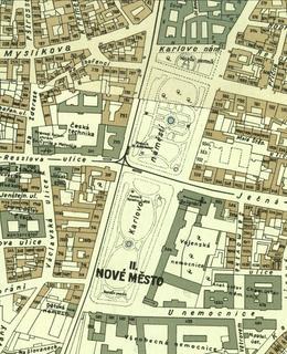 Mapa 1938, Karlovo náměstí