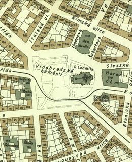 Mapa 1938, náměstí Míru