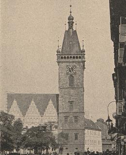 Novoměstská radnice, 1905, Světozor