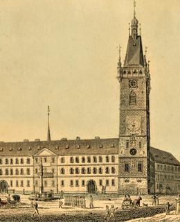 Novoměstská radnice, V. Morstadt, 1825, MMP