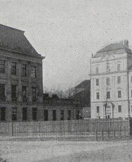 Ústavy německé univerzity, 1907
