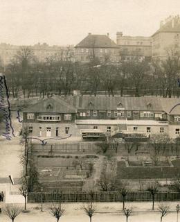 Albertov, Studentský domov, po r. 1923