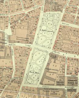 Karlovo náměstí 1884