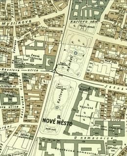 Karlovo náměstí 1938
