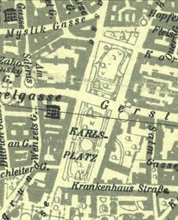 Karlovo náměstí 1944