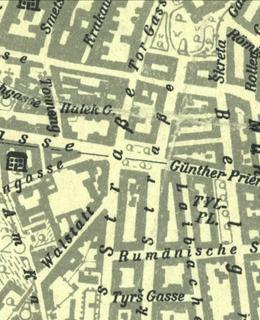 Náměstí I. P. Pavlova 1944