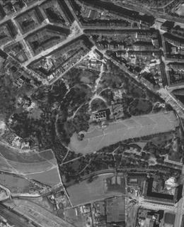 Havlíčkovy sady 1945