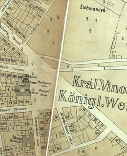 Náměstí Míru 1884