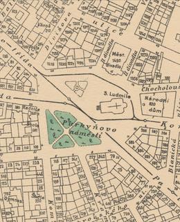 Náměstí Míru 1909-1914