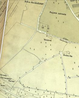 Riegrovy sady 1884
