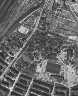 Riegrovy sady of 1945