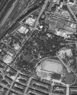 Riegrovy sady of 1953