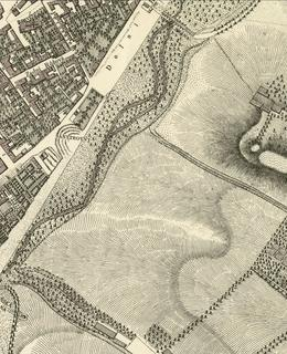 Hlavní nádraží (hradby) 1816