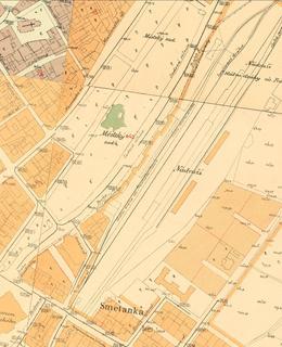 Hlavní nádraží 1889
