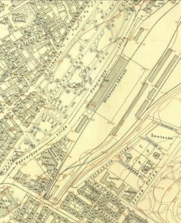 Hlavní nádraží 1920 - 1924