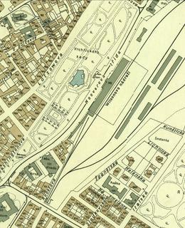 Hlavní nádraží 1938