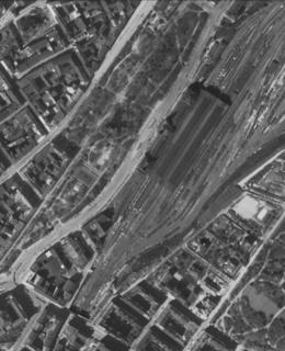 Hlavní nádraží 1945
