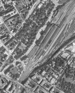 Hlavní nádraží 1966