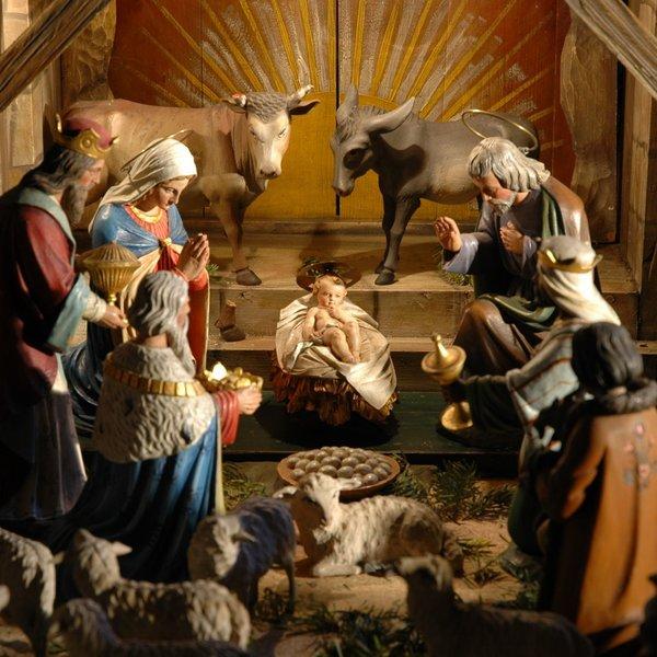 Jesličky, kostel sv. Ludmily, zdroj. farnost sv. Ludmily