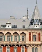 Ateliér a byt Dagmar Hochové ve věži a horním patře domu Resslova 1. Zdroj: archiv B. Kovaříkové