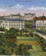 Celkový pohled na Albertov. Zdroj: archiv B. Kovaříkové