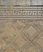 Detailní pohled na podlahu čekárny. Zdroj: archiv B. Kovaříkové