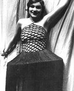 Dona Kichotka Jiřina Šejbalová 1927, Divadlo Na Slupi, Zdroj: archiv B. Kovaříkové