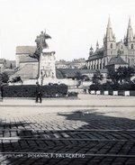 Palackého nám. před výstavbou ministerských budov. Zdroj: archiv B. Kovaříkové