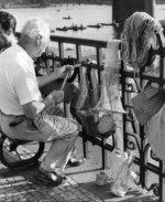 Poslední Podskalák Antonín Kubát. Zdroj: archiv B. Kovaříkové