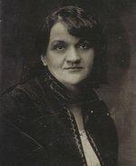 Sochařka Karla Vobišová. Zdroj: archiv B. Kovaříkové