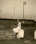 Zítkovy sady, 40. léta. Zdroj: archiv B. Kovaříkové