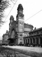 Wilsonovo nádraží, secesní Fantova budova, kolem 1925, MMP