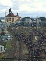 Praha hlavní nádraží s kolejištěm, 2018, P2