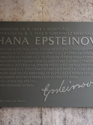 Hana Epsteinová, Sázavská čp. 830/5, Vinohrady