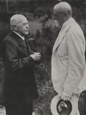 T. G. Masaryk na návštěvě u Aloise Jiráska v roce 1926
