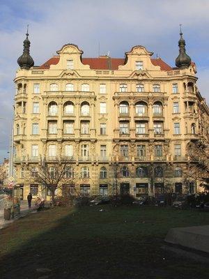 Jiráskovo náměstí (autor fotografie: Milan Polák)