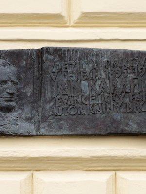 Jan Karafiát, Na Smetance čp. 330/ 14, Vinohrady