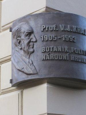 Vladimír J. Krajina, Benátská čp. 433/2. Nové Město (autor fotografie: Milan Polák)