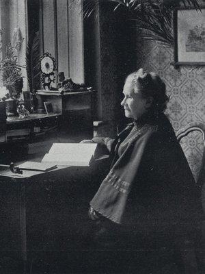Eliška Krásnohorská v roce 1910