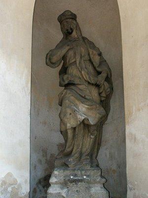 Svatá Ludmila, Štulcova ulice, Vyšehrad