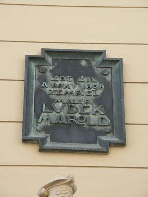 Luděk Marold, U Zvonařky čp. 65/1, Vinohrady (autor fotografie: Milan Polák)